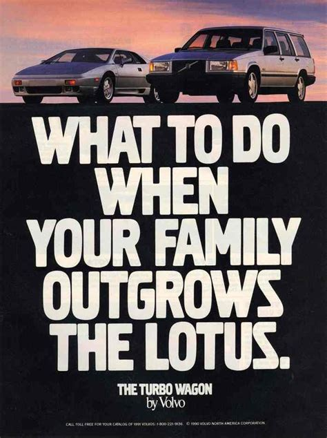 what s the new volvo commercial about what to do when your family outgrows the lotus print