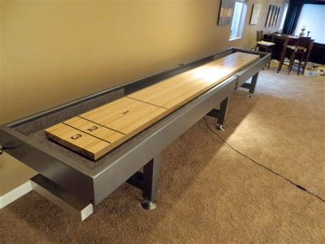 making a shuffleboard table building a shuffleboard table home design
