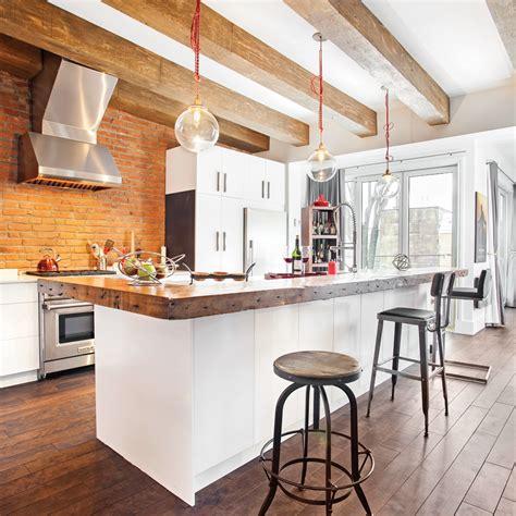 et decoration cuisine une cuisine rustique industrielle cuisine inspirations