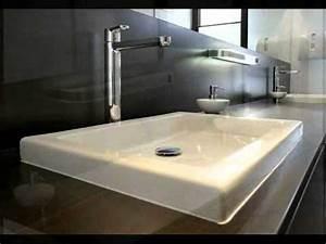 Moderne Badezimmer Beleuchtung : moderne b der teil1 feinsteinzeug holzoptik im bad doovi ~ Sanjose-hotels-ca.com Haus und Dekorationen