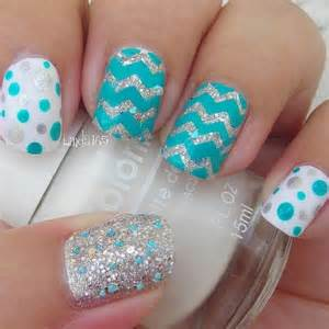 Stylish polka dots nail art designs noted list