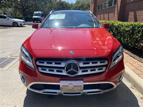 Your actual mileage will vary depending on how you drive and maintain your vehicle. Certified Pre-Owned 2019 Mercedes-Benz GLA GLA 250 Front Wheel Drive SUV
