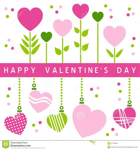 Happy Valentine S Day Card [1] Stock Vector - Illustration ...