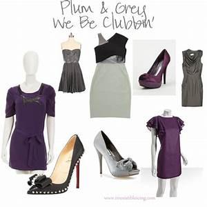 Irresistible Fashion: Plum & Grey - Irresistible Icing