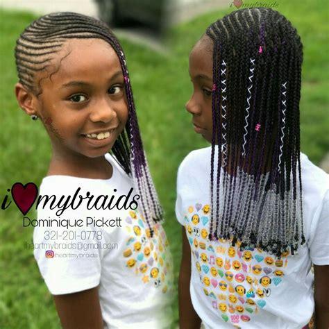 Lil Kid Hairstyles by Babygirl Lemonade Braids It S Innate Jr Edition Hair