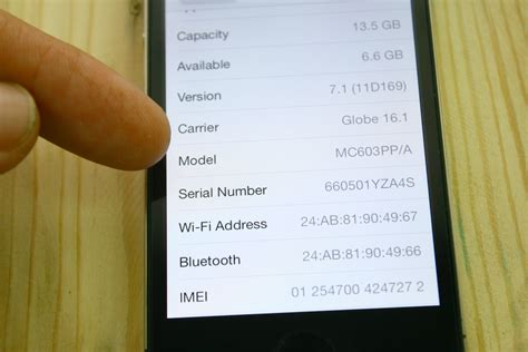 iphone 5s model number how to identify a refurbished iphone 4 steps with pictures