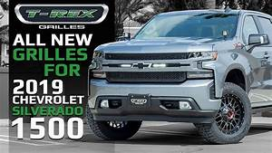 All New Grilles Line Up For 2019 Chevrolet Silverado