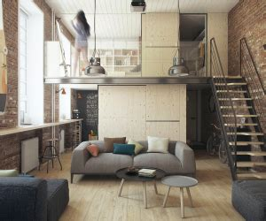 Converted Industrial Space Becomes A Pretty Apartment by Loft Interior Design Ideas