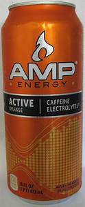 Caffeine King  Amp Active Orange Energy Drink Review