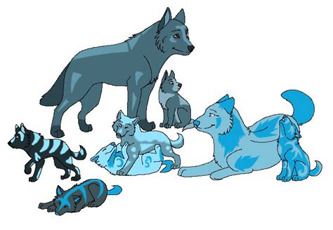 Wolf Family Point Adopts By Cutespeon On Deviantart
