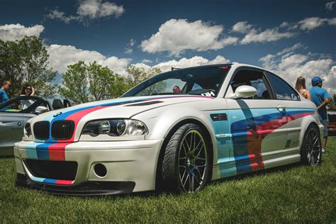 Bmw E46 M3 In M Colors At The Denver Concourse The