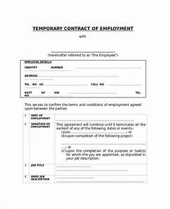 sample employment contract 6 documents in pdf word With staffing contract template