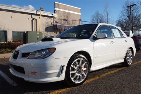 41k-mile 2006 Subaru Impreza Wrx Sti For Sale On Bat