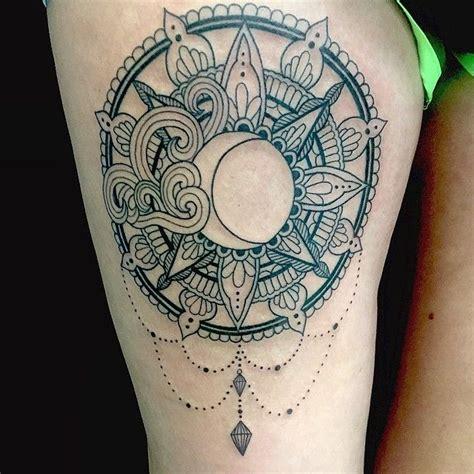 moon tattoo sun art  instagram mandala sun tattoos