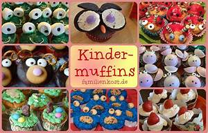 Kindermuffins zum Kindergeburtstag Ideen und Rezepte