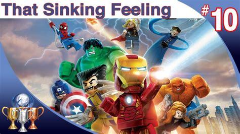 lego marvel superheroes that sinking feeling glitch lego marvel heroes walkthrough level 10 that