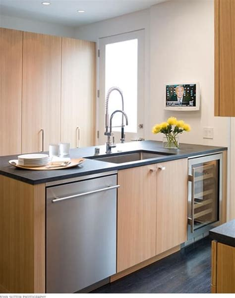 kitchen peninsula with sink how to restore your stainless steel kitchen sinks 5519