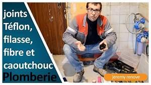 Joint Fibre Ou Caoutchouc : joint teflon joint filasse joint fibre ou caoutchouc ~ Dailycaller-alerts.com Idées de Décoration