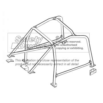 Datsun 510 Roll Cage by Safety Devices Datsun 510 Roll Cage Gsm Sport Seats