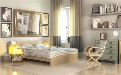 kleines schlafzimmer optimal einrichten  ideen
