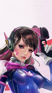 Overwatch Diva Cute Game Art Illustration IPhone 5s