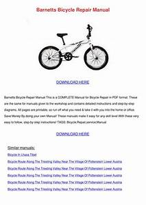 Barnetts Bicycle Repair Manual By Julianehobbs7