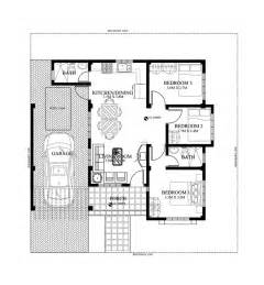 pictures house plans by lot size single story small house plan floor area 90 square meters