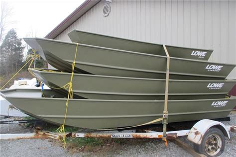 Lowe Line Jon Boats by Wide Aluminum Jon Boat Boats For Sale