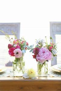 Tisch Blumen Hochzeit : vintage tischdeko zur hochzeit 100 faszinierende ideen ~ Orissabook.com Haus und Dekorationen