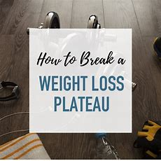 How To Break A Weight Loss Plateau  Without Starving Yourself