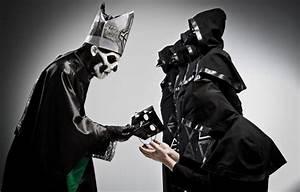 Wallpaper Ghost, dedication, mask, nameless ghouls, papa ...