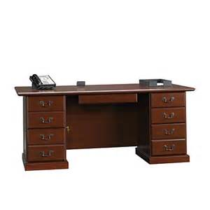 sauder heritage hill executive desk 29 34 h x 70 12 w x 35