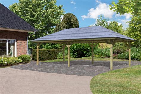 Karibu Pavillon Carport Kirn 3 68846  Az Gartenhaus Gmbh