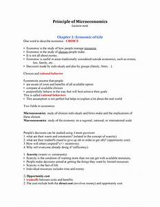 Classnotes  Notes Of Economics Class 11 Chapter 2
