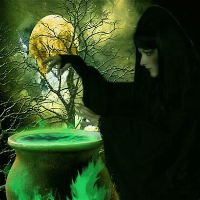 Witch Cauldron Witches Animated Brew Gifs Italiana