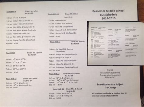 bessemer city middle school latest news bus schedule routes