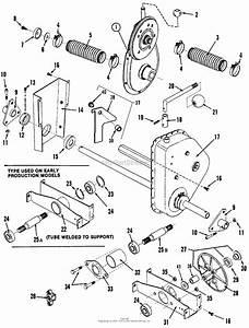 Snapper Lt11001 11 Hp Disc Drive Tractor Series 1 Parts