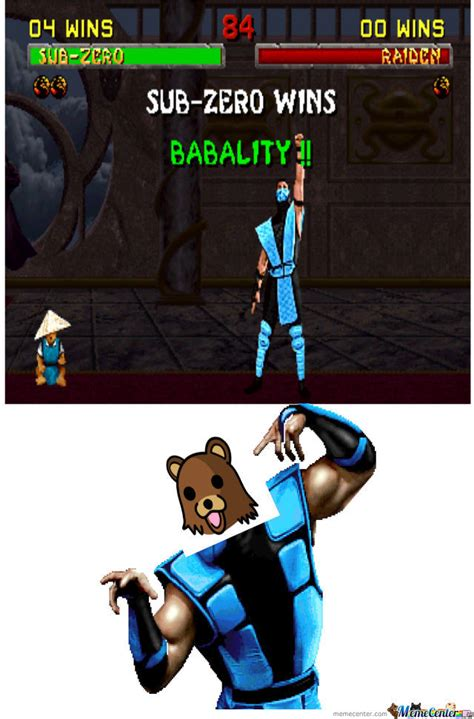 Mortal Kombat Memes - mortal kombat babality by markoaod meme center