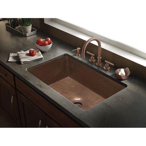 bronze undermount kitchen sink kitchen sinks bronze tones faucets n fixtures orange 4931