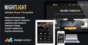 30 best responsive adobe muse themes 2014 psdreview With adobe muse mobile templates
