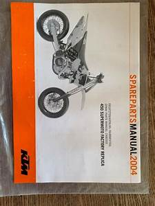 2004 Ktm 450 Supermoto Replica Chassis Spare Parts Manual Chassis And Engine