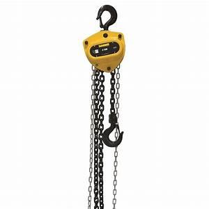 Sumner 2-ton Chain Hoist With 15 Ft  Lift-787417