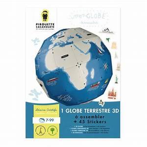 Globe Terrestre Carton : globe terrestre construire kit cr atif enfant stickers ~ Teatrodelosmanantiales.com Idées de Décoration