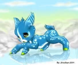 Cute Anime Baby Deer