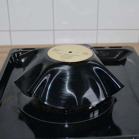 Schale Aus Schallplatte by Schale Aus Schallplatte Upcycling Schallplatten