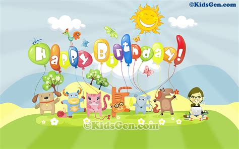 Happy Birthday Animated Wallpaper - happy 1st birthday wallpaper gallery