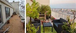 decoration balcon terrasse appartement With idee deco terrasse appartement