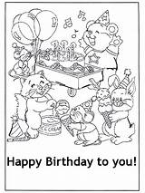 Birthday Happy Coloring Cards Card Gefeliciteerd Printable Boys Ausmalbilder Hartelijk Kaart Colorare Kleurplaat Cartoline Colouring Sheets Anniversaire Drawing Biglietto Augurio sketch template