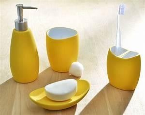 Accessoires Salle De Bain : best salle de bain jaune et vert pictures antoniogarcia ~ Dailycaller-alerts.com Idées de Décoration