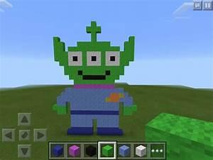 Toystory Alien Pixel Art Minecraft Amino